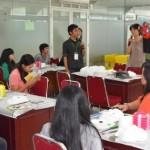 Mahasiswa UNAS meminati Kelas Kebudayaan Korea