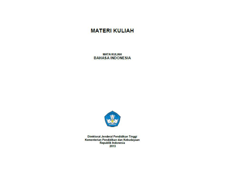 Modul Kuliah Bahasa Indonesia Baa Unas